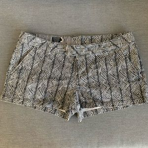 Volcom Printed Grey Shorts
